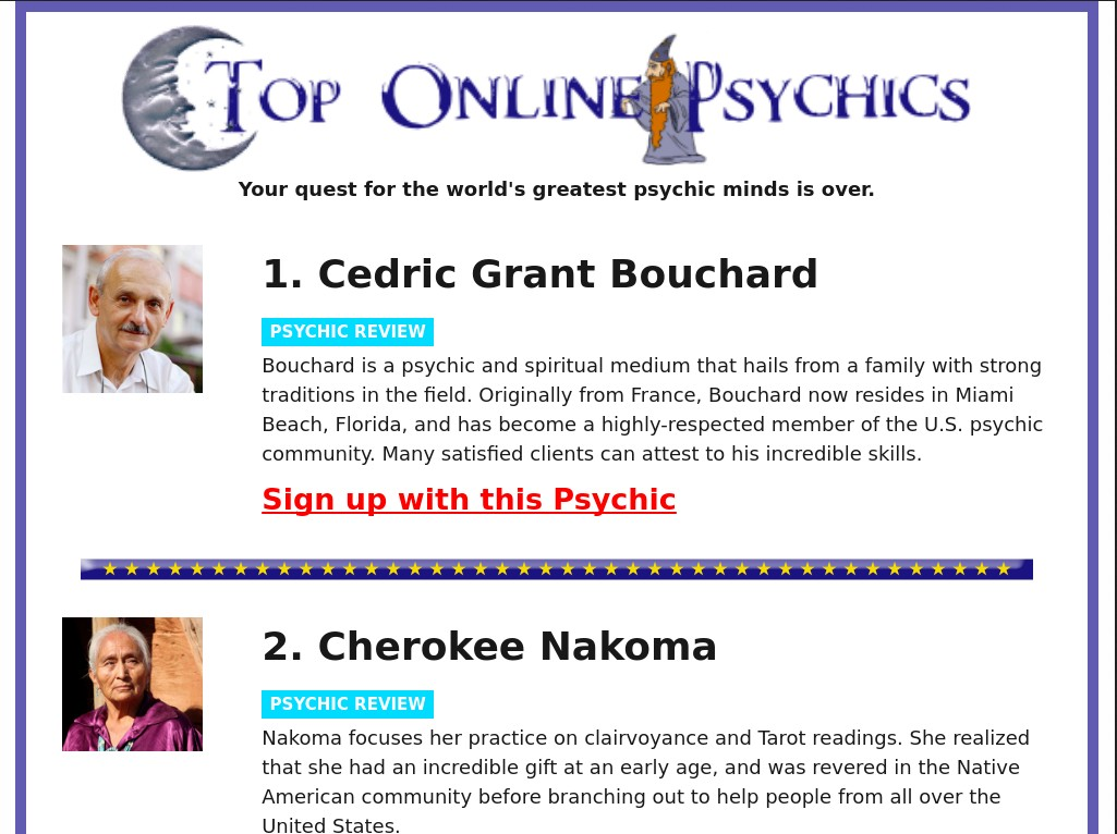 best psychic in sydney reviews