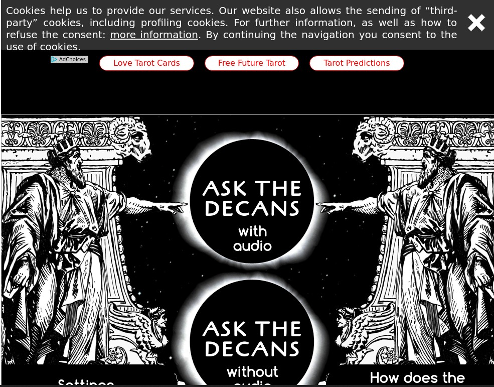 Next Tarot, the free tarot card reading site, reviewed by Psychic Dude