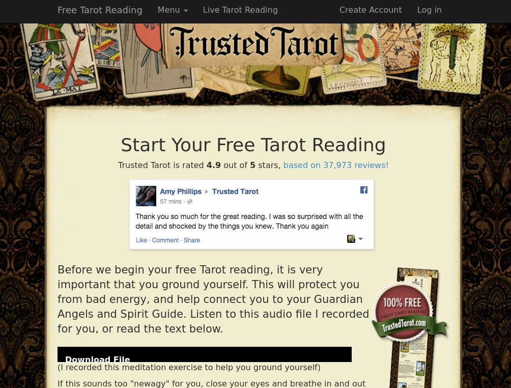 https://www.trustedtarot.com/free-reading/